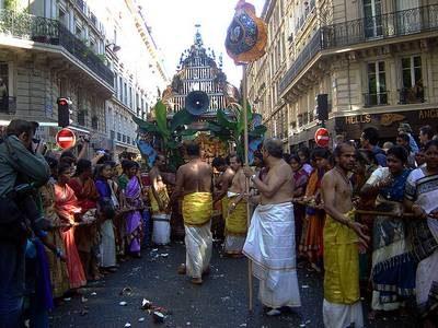 fête de Ganesh Paris 2004
