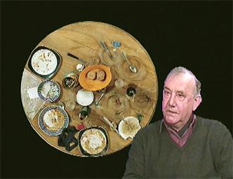 Daniel Spoerri en 1995 image extraite d'une vidéo