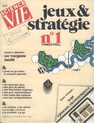 couverture jeux et stratégie n°1