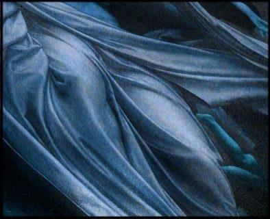 Détail d'un drapé, tableau du 19e siècle