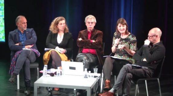 Photographie des intervenants de la conférence