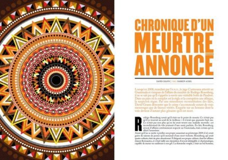 Double page de la revue Feuilleton