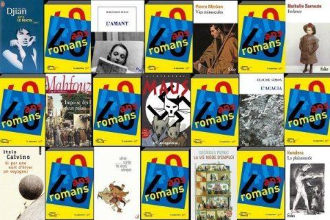 40 ans 40 romans - mosaïque de couvertures années 80