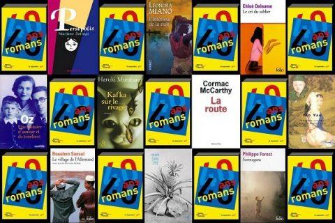 40 ans 40 romans - mosaïque de couvertures années 2000