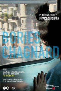 Affiche de la rétrospective Claudine Bories et Patrice Chagnard