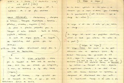 manuscrit Echenoz