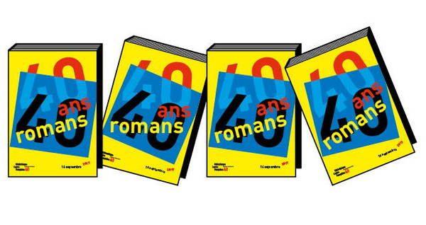 Logo de l'événement 40 ans / 40 romans