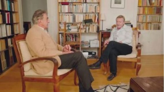Jean Echenoz et Gérard Berthomieu