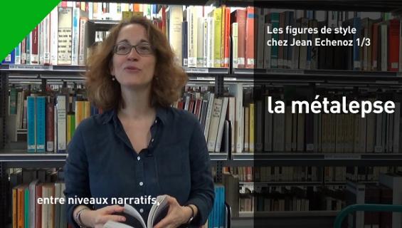 Christelle Reggiani parle de la métalepse