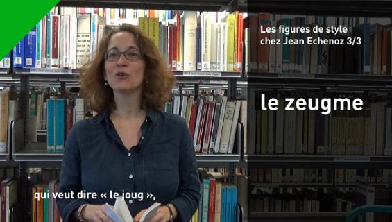 Christelle Reggiani parle du zeugme