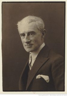 portrait photographique de Ravel