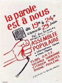 Affiche de Mai 68