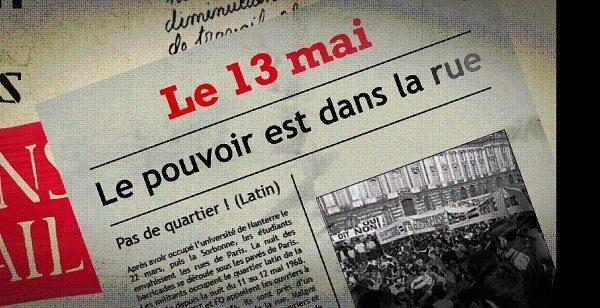 Image extraite du film de Lucie Hémard, Mai 68 : un mouvement solidaire
