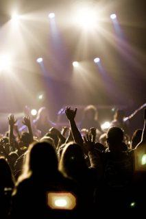 photographie d'un concert