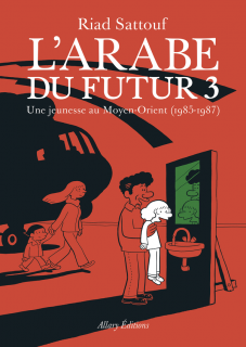 couverture du tome 3 de L'Arabe du futur