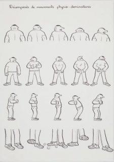 Décomposés des mouvements physio-dominateurs