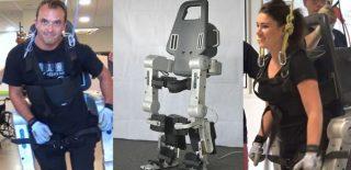 Un exosquelette permet à des personnes paraplégiques de marcher
