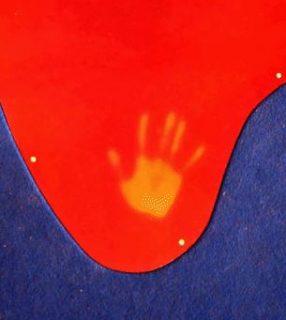 Une empreinte de main