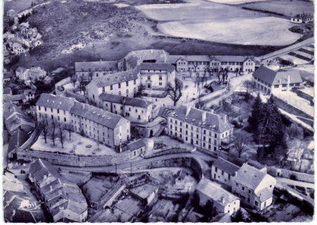 Vue aérienne de l'hôpital