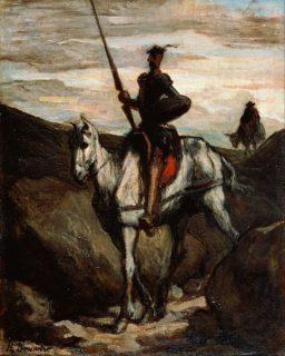 Tableau représentant Don Quichotte