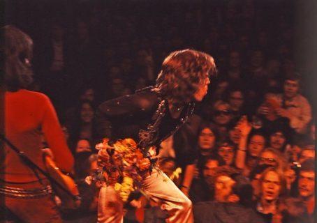 Le public des Rolling Stones lors du concert d'Altamont