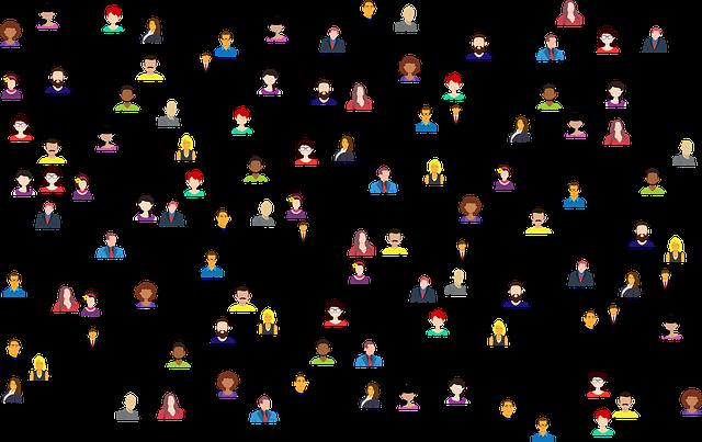 icône de personnes en réseau