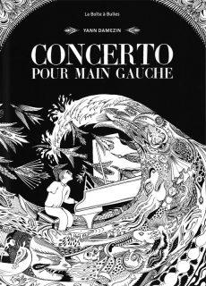 Couverture de la BD Concerto pour main gauche