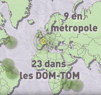 32 frontières pour la France