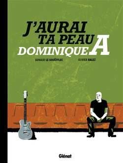 couverture : Dominique A sur un banc, loin de sa guitare