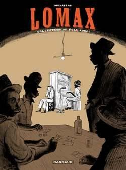 couverture de Lomax : des gens au bar, un pianiste au fond.
