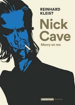 portrait de Nick Cave sur la couverture