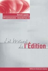Les métiers de l'édition, couverture