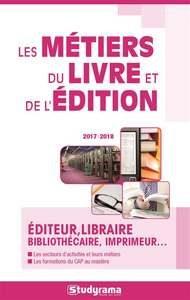 couverture de Métiers du livre et de l'édition