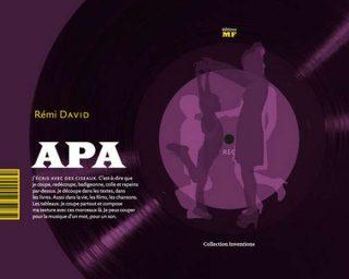 Couverture de l'ouvrage APA