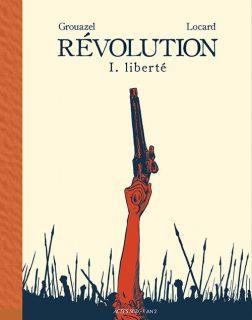 Couverture de la BD Révolution