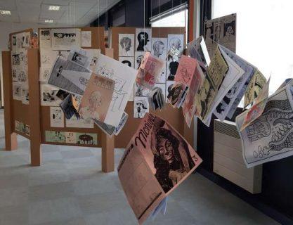 Séverine Boullay - Exposition Pierre Feuille Ciseaux #7, FIBD, Angoulême, 2020