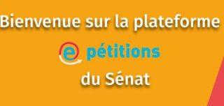 Nouvelle fenêtre vers le site de pétitions du Sénat