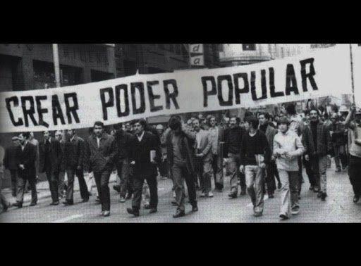 Manifestation au Chili avant le coup d'État