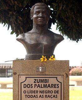 Buste de Zumbi dos Palmares
