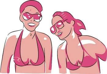 femmes en bikini
