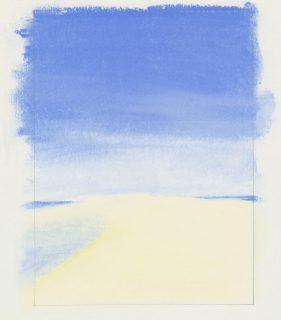 La dune du Pilat, au pastel
