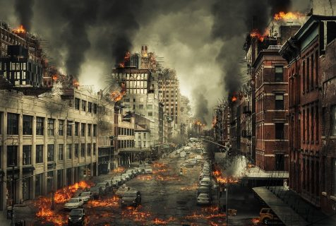 ville en ruines
