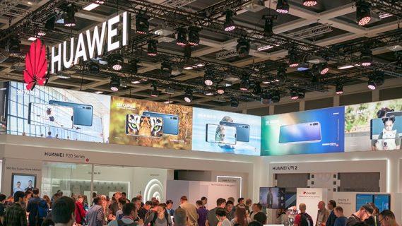 le stand Huawei à l'IFA de Berlin, 2018