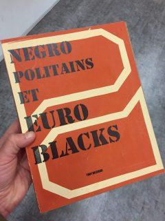 couverture d'un mock book réalisé par les étudiants