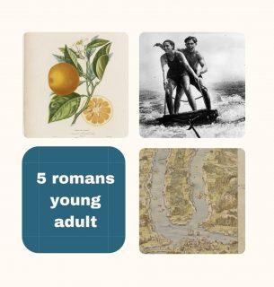 Images anciennes issues de Gallica représentant un dessin de citrons, un couple qui fait du jet ski et une carte ancienne