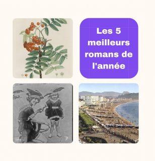 Images anciennes issues de Gallica représentant une branche avec des fruits, une petite fille et une femme en costume de bain et la plage de Biarritz