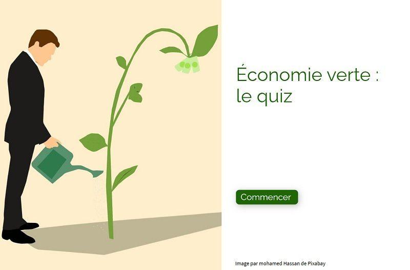Quiz économie verte