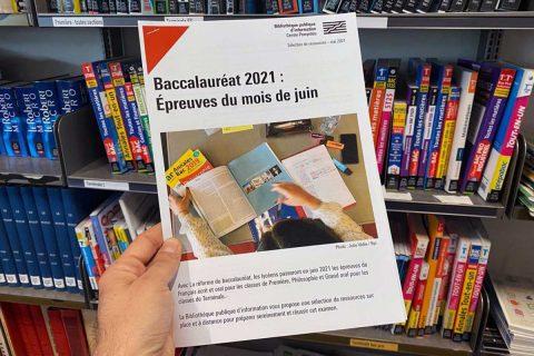 bibliographie pour les épreuves de juin du baccalauréat