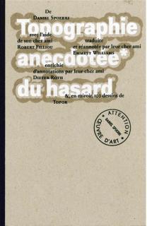 Couverture du livre Topographie anectotée du hasard