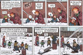 Extrait de la bande dessinée Spirou, l'espoir malgré tout d'Emile Bravo (Editions Dupuis, 2018)